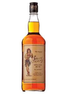 Sailor Jerry Rum 40% ABV 70cl - Pack of 6 £38.48 @ Amazon