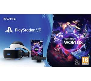 PSVR V2 with VR Worlds Mega Starter Bundle £119.99 @ Argos