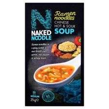 Naked Noodle Ramen Hot And Sour Soup (25G) 30p @ Tesco