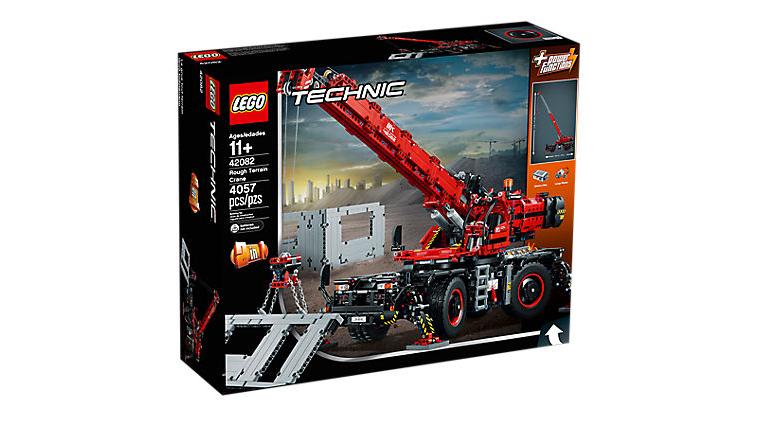 LEGO Technic - Rough Terrain Crane - 42082  £118.38 at Asda George RRP £225
