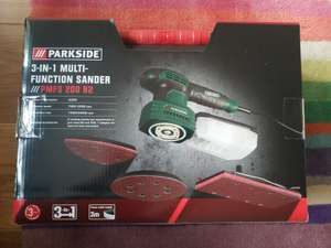 Parkside 3 in 1 Multi sander with variable speed with carry case £13.99 instore @ Lidl