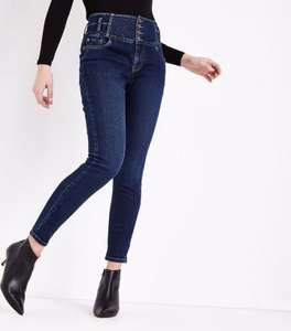 Blue Rinse Wash High Waist Skinny Yazmin Jeans for £13 (+3.99 Std delivery) @ NewLook