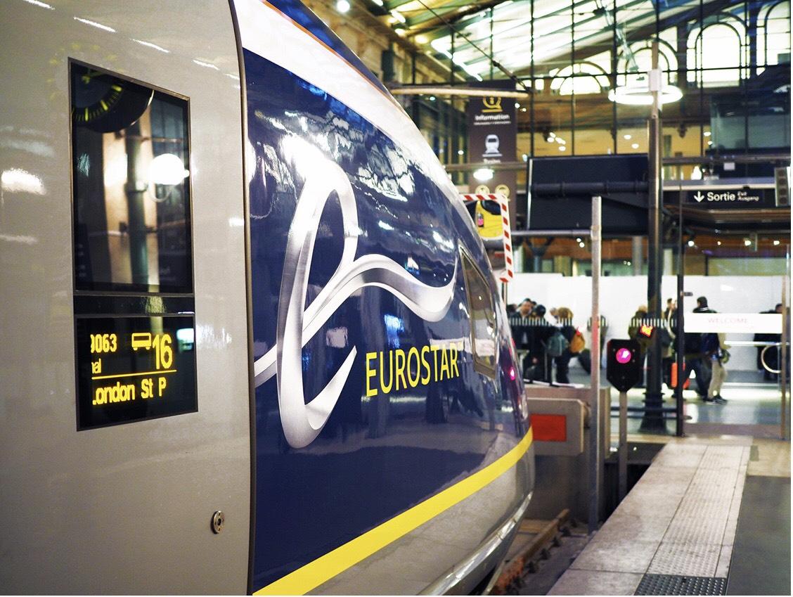 Eurostar seats 2019 - prices from £29 to Paris