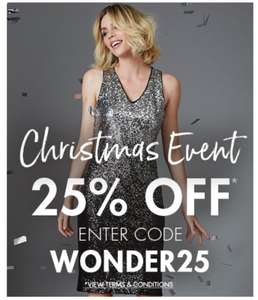 25% Off Christmas Event @ M&Co