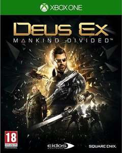Deus Ex: Mankind Divided (Xbox One) £2.50 (Used) @ CEX (+£1.50 Delivered)