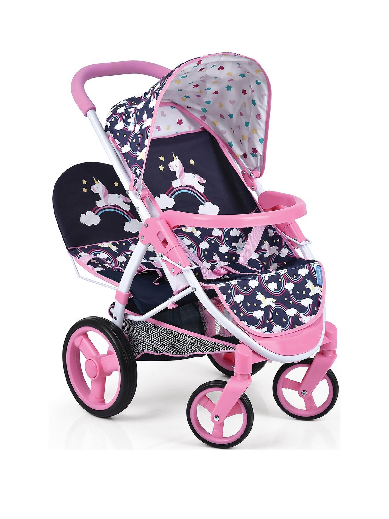 Hauck Unicorn Malibu Doll Twin Stroller £19.99 Free c & c @ Very