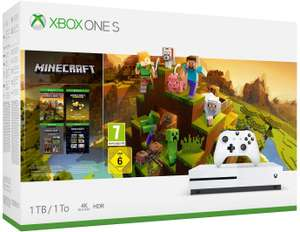 Xbox One S 1 TB Bundle with Minecraft or Battlefield V Deluxe or Forza Horizon 4 or PUBG - £165.06 @ Amazon France