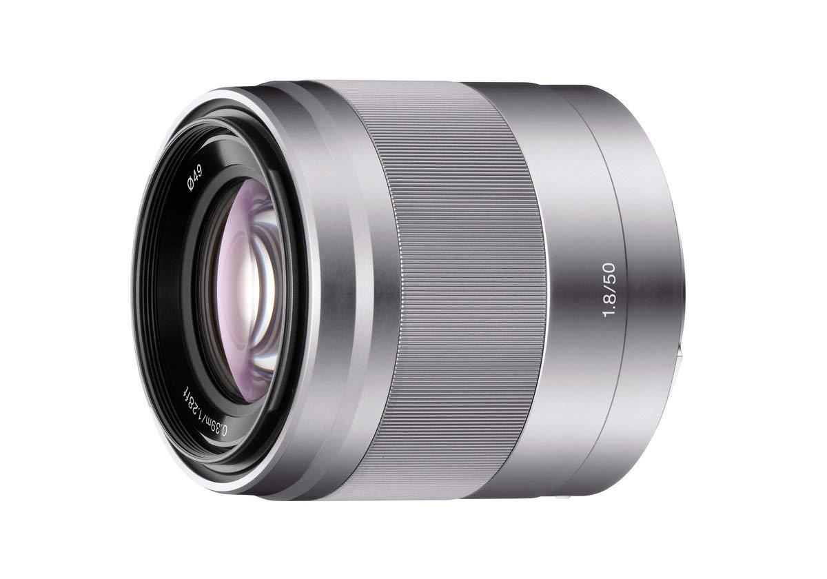 Sony SEL50F18 E Mount APS-C 50 mm F1.8 Prime Lens - Silver @ Amazon - £169.99