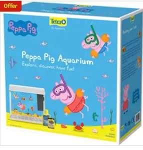 Peppa Pig Aquarium £25 @ Pets At Home