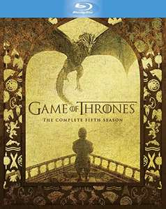 Game of Thrones - Season 5 [Blu-Ray] - £15.99 @ Amazon Prime (+ £2.99 non Prime or free delivery with code till 05/12)