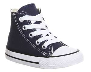 Converse Small Star Hi CanvasNavy Canvas - £20.29 with code @ Office Shoes