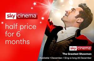 Half Price Sky Cinema & On Demand £10.50 @ Virgin Media.