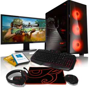 AWD-IT Intel-i5-8400 gtx-1070 8gb RAM Windows 10 gaming pc monitor package £999.95 - £1009.94 for a 1070ti