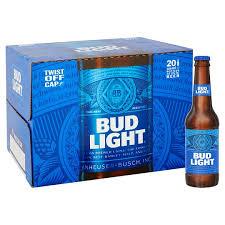 20 bottles of Bud light (300ml bottles) for £10 instore @ Morrisons