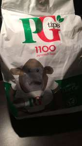 PG Tips 1100 £7 corby tesco in store