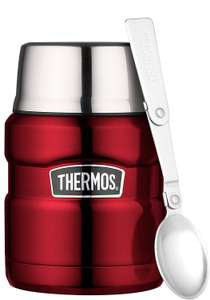 Thermos Stainless King Food Flask, Red, 470 ml £12.99 Prime + Free delivery with code (FREEDELIVERY) Non-Prime @ Amazon