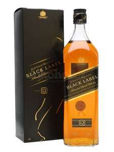 Johnnie Walker Black Label Blended Scotch Whisky, 70cl £19.80 Prime + Free delivery with code (FREEDELIVERY) Non-Prime @ Amazon