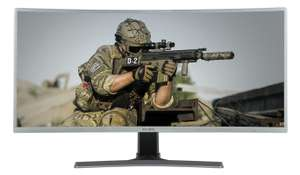 """Electriq 35"""" Ultrawide (21:9) WQHD (3440x1440) 100Hz  Monitor £359.97 (£350.97 with Which? trial) @ Laptops direct"""