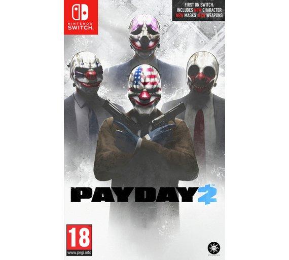 Payday 2 Nintendo Switch £23.99 @ Argos