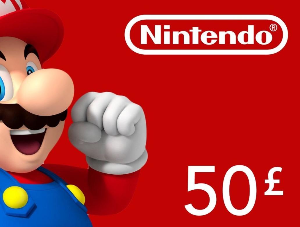 £50 of UK Nintendo eShop credit for £41.50 @ Zeek