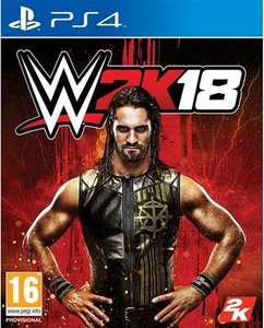 WWE 2K18 PS4 instore CEX or £11.50 delivered.