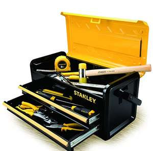 Stanley STST1-75510 Tool Box with 2 Drawers, Black/Yellow, 19-Inch - £28.88 @ Amazon