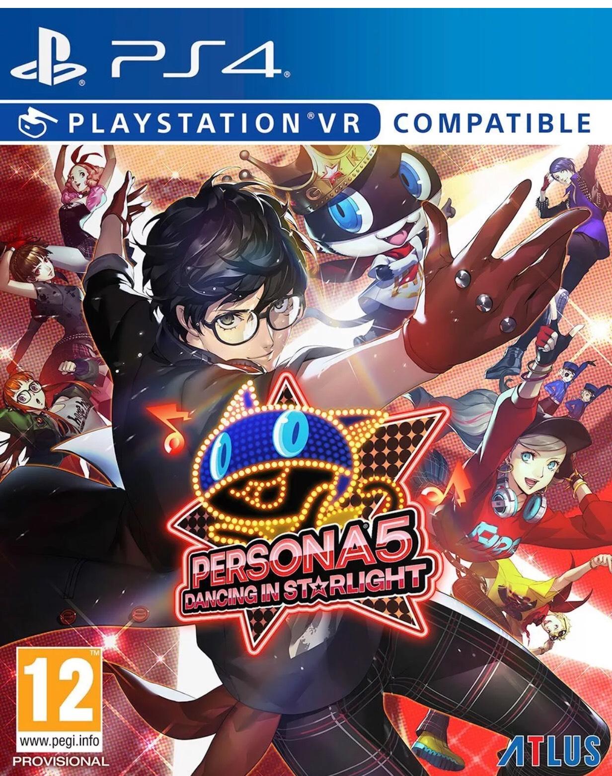 Persona 5 Dancing in Starlight/ Persona 3 Dancing in Moonlight (PS4) £34.85 each @ ebay via bossdeals