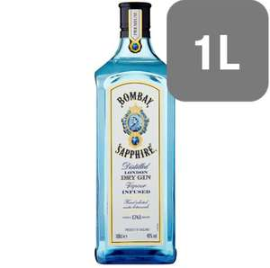 3 x 1litre bottles of Bombay Sapphire for £45.00 + £2.99 delivery from Amazon Pantry