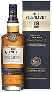 Glenlivet 18 year - £45.75 Amazon fresh (new/existing subscribers, with code LEEKS)