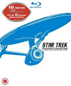 Star Trek: The Movies 1-10 (Box Set) [Blu-ray] £21.60 with code @ Zoom - Free Delivery