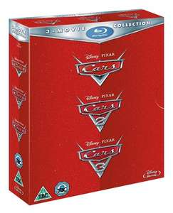 Cars 1-3 Blu Ray Box Set £13.50 @ zoom.co.uk with code SIGNUP10