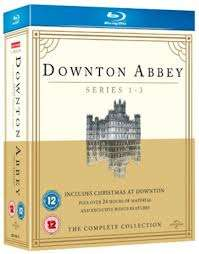 Downton Abbey - Series 1-3 / Christmas at Downton Abbey 2011 [Blu-ray] Used Very Good Condition £3.26 delivered @ CBM Store Amazon