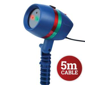 Star Shower Motion: Projected Outdoor And Indoor Christmas Lights with 5m Cable was £69.99 now £19.99 + £2.95 delivery  jml direct