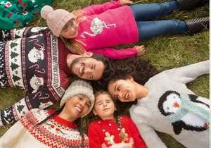 20% off Christmas clothing, nativity, jumpers & t-shirts eg matching mini me Rudolph jumpers now from £7.20 / Adults £12.80 @ George Asda