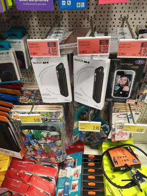 Tech21 Charging Cases for iPhone 6/6s (should also fit iPhones 7 and 8 however check camera sits flush) Instore @ B&M Bolton - £4.99