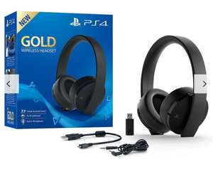 PS4 Gold Wireless Headset for only £49.95 at John Lewis & partners