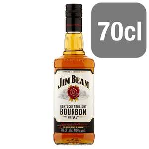 Jim Beam White Bourbon/Honey/Red Stag 70cl was £17.50 now £12 @ Tesco InStore and Online