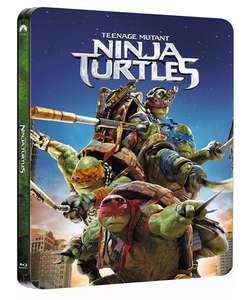 Teenage Mutant Ninja Turtles (2014) Blu-ray Steelbook £4.50 w/ code @ Zoom