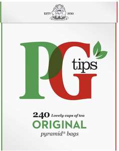 PG Tips Tea Bags - 240 - £1.99 instore @ Filco