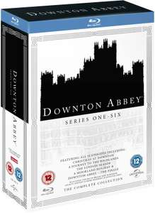 Downton Abbey Complete Collection Blu Ray Box Set: Seasons 1-6 incl. Xmas Episode £20.70 @ zavvi using code XMAS10