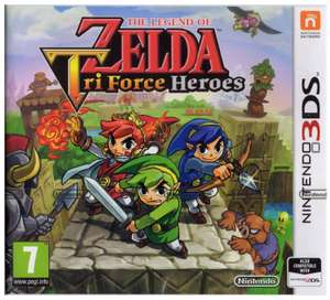 The Legend of Zelda Tri Force Heroes (Nintendo 3DS) £8.64 Delivered with code @ Amazon & £9.85 Delivered at Shopto