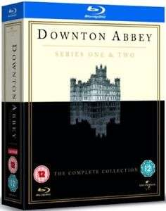 Downton Abbey - Series 1 & 2 Blu-ray Region Free Used £2.69 delivered w/code @ Music Magpie