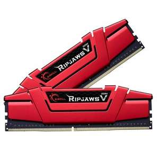 16GB (8GBx2) G.SKILL RipjawsV PC Desktop Memory DDR4 2400MHz CL15 1.2V Red Kit - £74.99 @ Technextday.co.uk