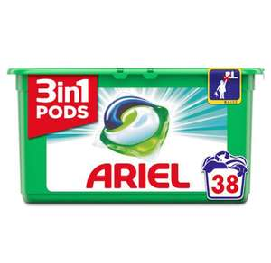 Ariel 38 pods reduced from £9 to £6 @ Tesco