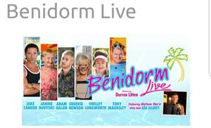 Benidorm Live at New Alexander Theatre Birmingham Tuesday 4th December with showfilmsfirst