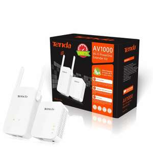 Tends 1GBPS power line adapters + WiFi extender - £28.96 Delivered @ Ebuyer
