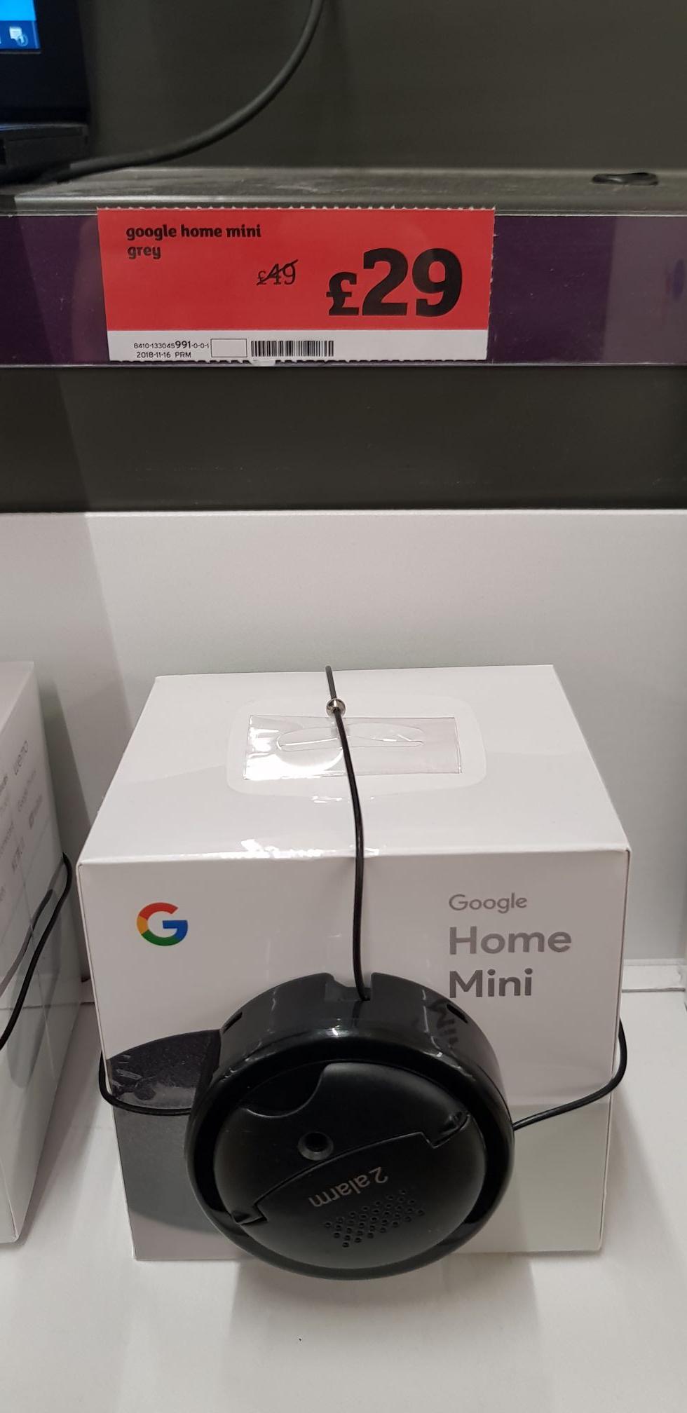 Google Home Mini £29 @ Sainsburys