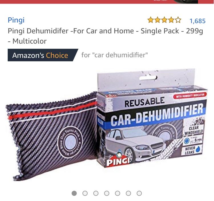 Pingi Reusable Car Dehumidifier Reduced again now £4.25 @ Amazon delivered