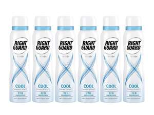 Right Guard Women Xtreme Ultra Cool Anti-Perspirant Aerosol Deodorant 150 ml - Pack of 6 £6 + free delivery (non Prime) w/code FREEDELIVERY