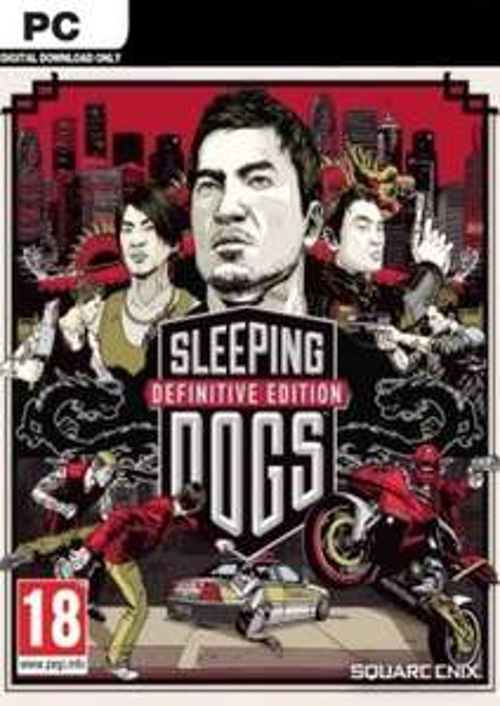 Sleeping Dogs: Definitive Edition PC Steam Key £2.99//£2.90 with FB code @ CD KEYS